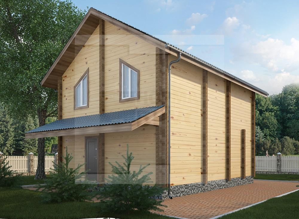 Деревянный дом Нормабрус