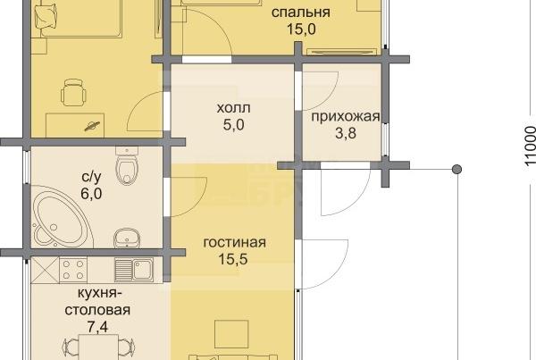 лодейка-1этаж