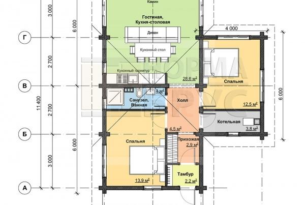 A-004_план этажа вз