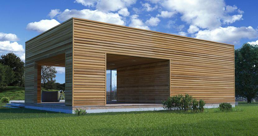 Каркасный дом НК 4 от производителя Нормабрус