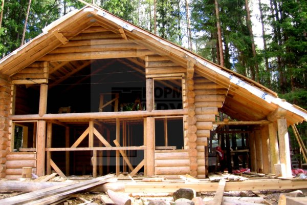 Дом ручной рубки: строительство