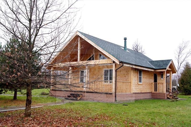 стриотельство домов из профилированного бруса