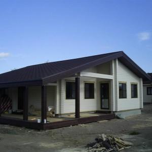 Дом из бруса в Холодном Ручье