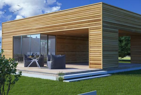 План каркасного дома НК 4 от производителя Нормабрус
