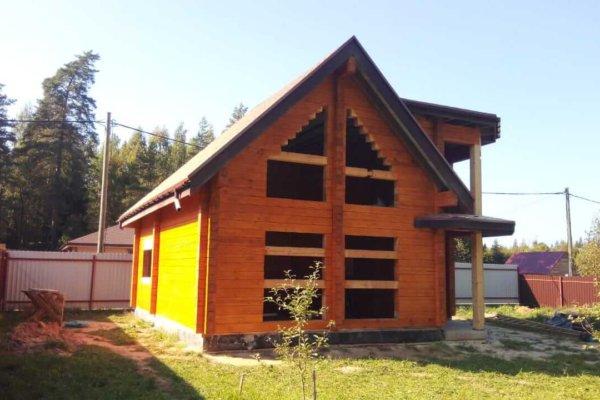 гостевой дом из клееного бруса